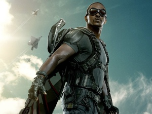 Anthony Mackie as Falcon. Photo credit (x).